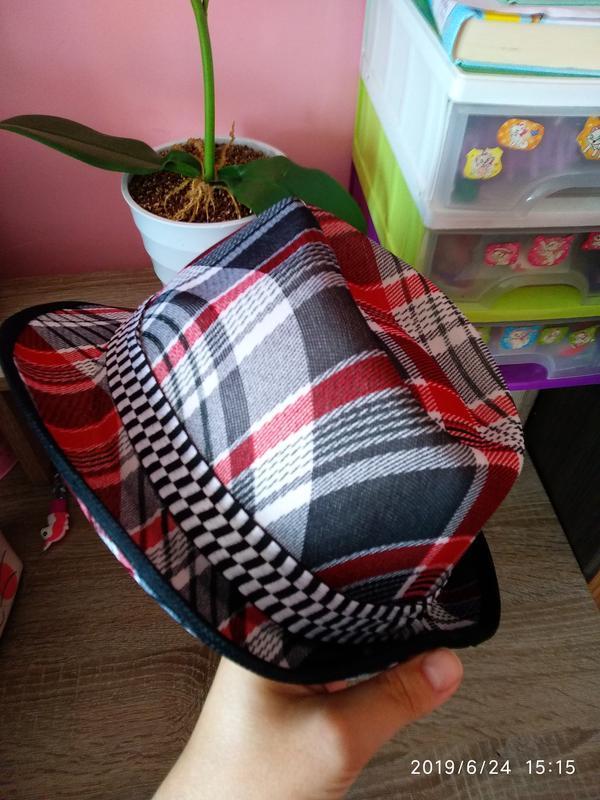 Шляпа летняя 🔥 разноцветная унисекс с декоративной лентой 🎗️ - Фото 5