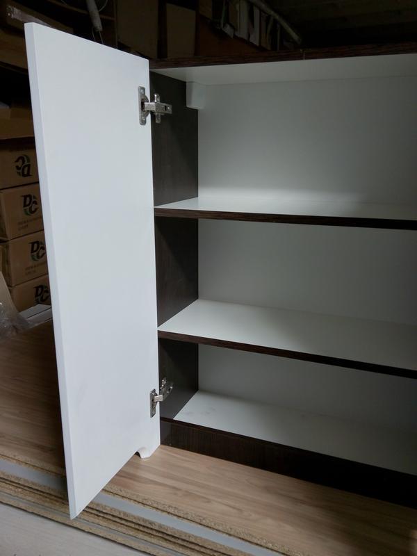 Шкаф навесной Симпл Венге 600*800*282 (КОД: SH-0260-В) - Фото 3