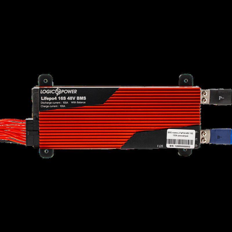 BMS плата LiFePO4 48V 16S 100A симметрия