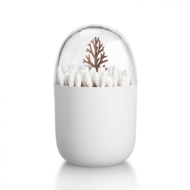 Контейнер для ватных палочек Дерево brown (123744)