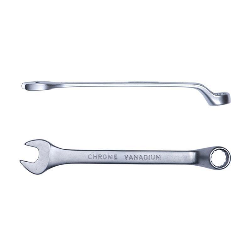 Ключ рожково-накидной глубокий 12мм CrV satine SIGMA (6024121)