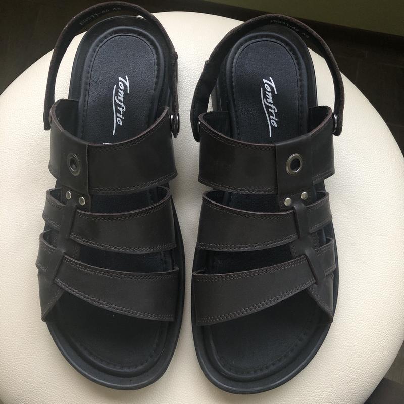 Сандалии мужские - босоножки, стильные сандали, шлёпанцы, шлёпки