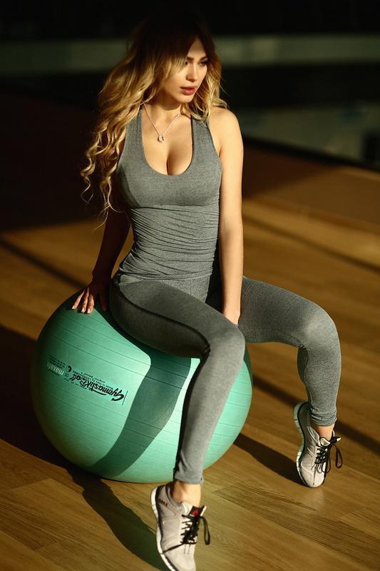 Спортивная майка для фитнеса и зала Designed For Fitness Pro Fitn - Фото 2