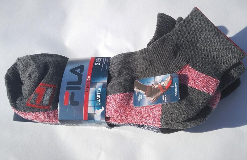Новые спортивные носки fila (оригинал)