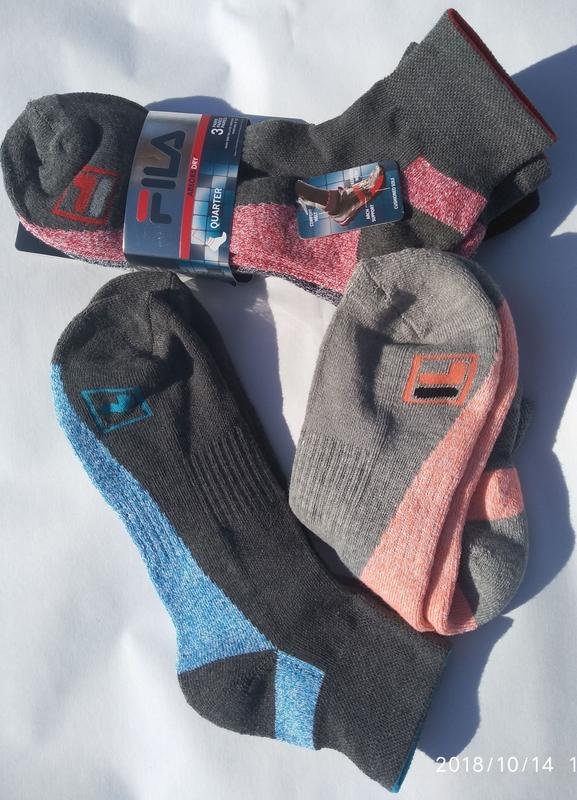 Новые спортивные носки fila (оригинал) - Фото 4