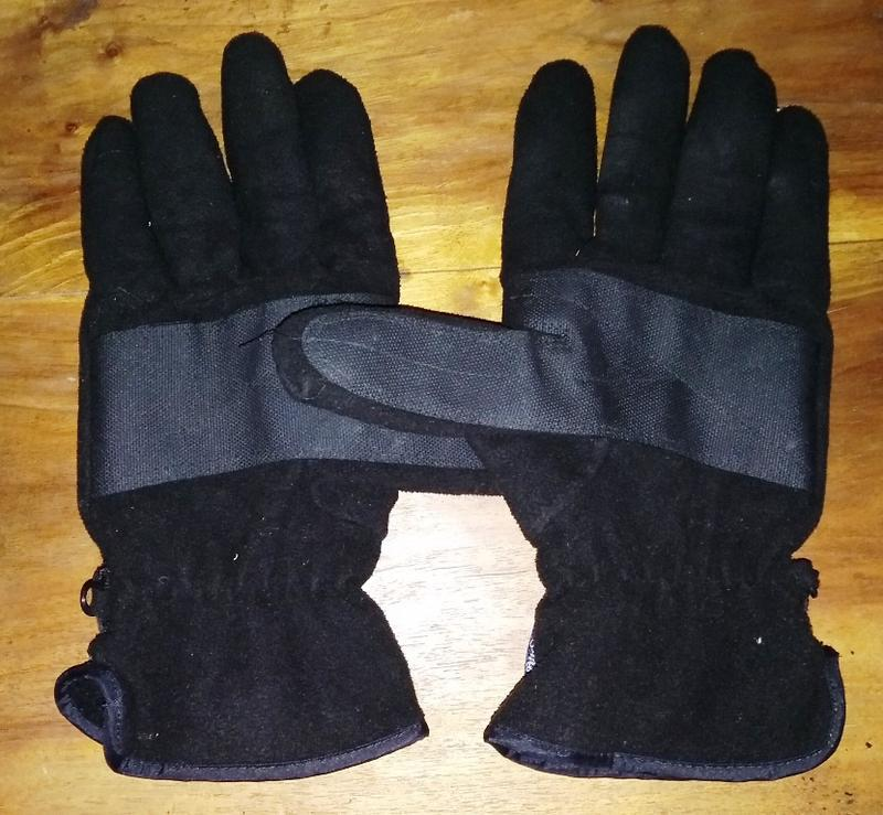 Флисовые перчатки thinsulate - Фото 2