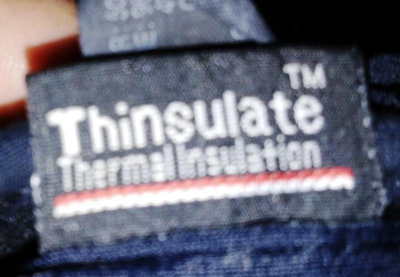 Флисовые перчатки thinsulate - Фото 3
