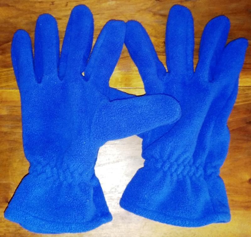 Флисовые перчатки good year - Фото 2