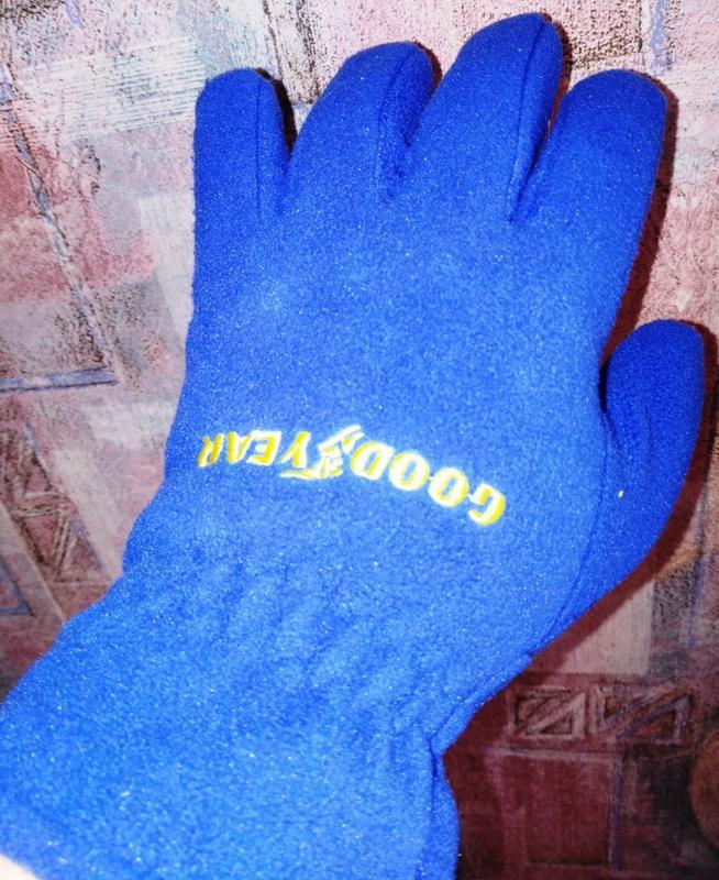 Флисовые перчатки good year - Фото 3