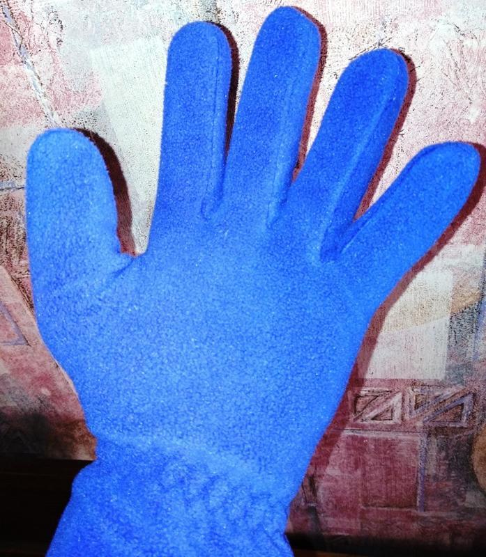 Флисовые перчатки good year - Фото 4