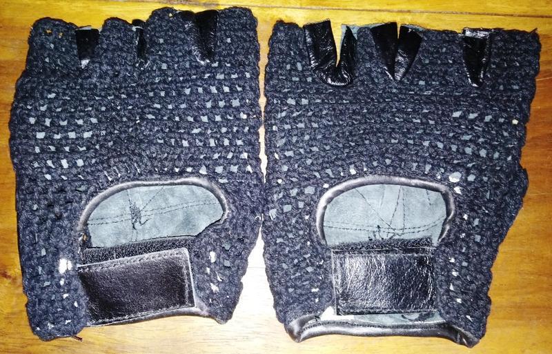 Перчатки без пальцев, кожаные, мото, вело - Фото 2