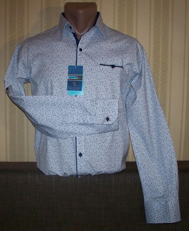 Рубашка трансформер приталенна юниорам 164,170,180 Турция