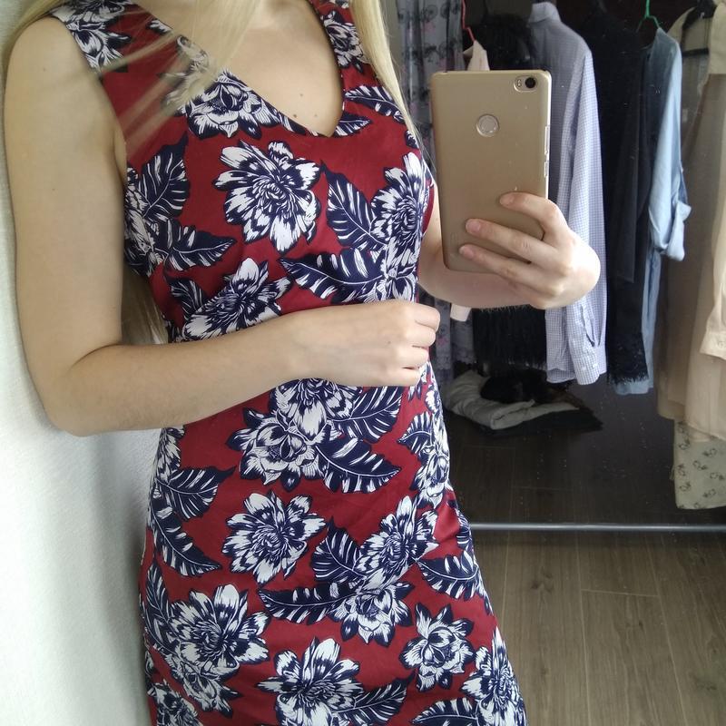 Платье платице сарафан красивое - Фото 7