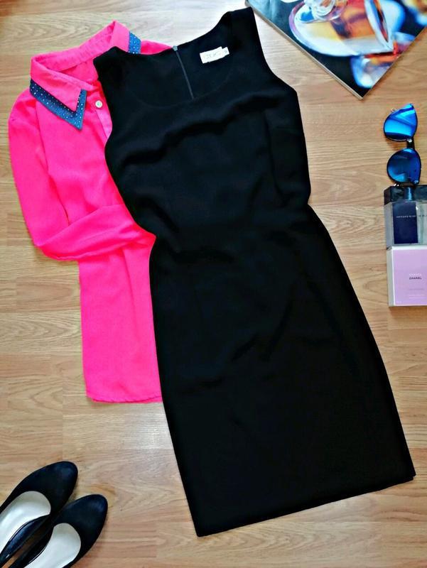 Женское базовое лаконичное платье - футляр - размер 46-48