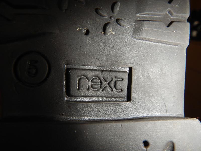 Сапоги next р.23 (5,14,5см) деми кожаные девочке - Фото 6