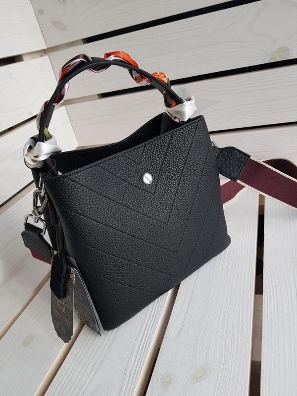 Кожаная сумка супер качества - Фото 2