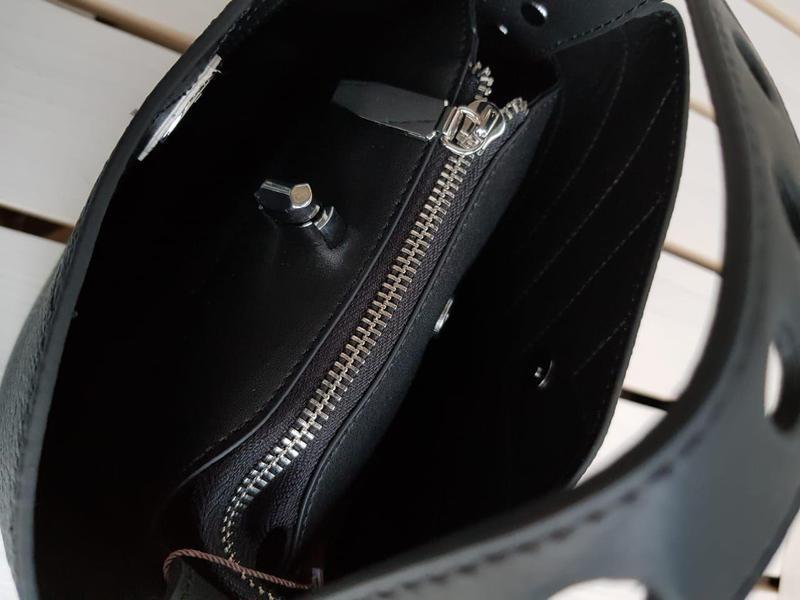 Кожаная сумка супер качества - Фото 3