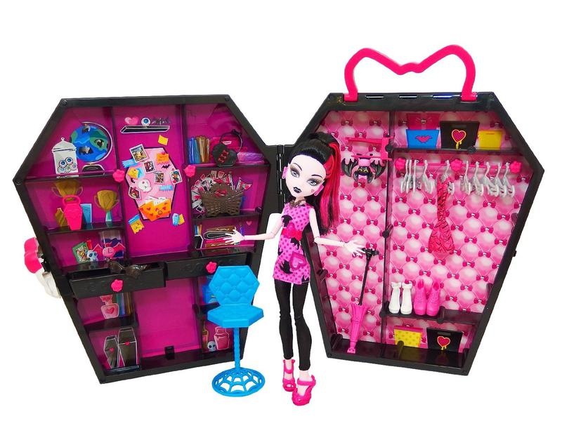 Monster High Doll Mattel Draculocker Дракулокер