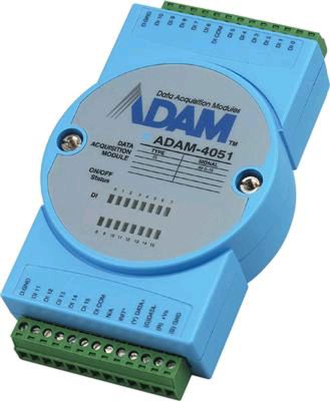 Advantech , Модуль дискретного ввода ADAM-4051