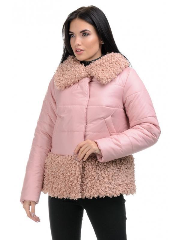 Стильная зимняя женская куртка прямого силуэта. размеры 44- 50 - Фото 3