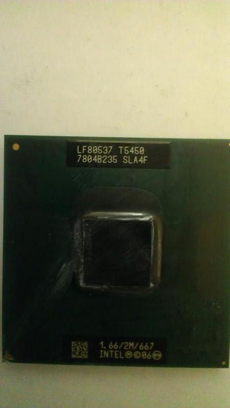 Процессор Intel Core 2 Duo T5450 (socket P)