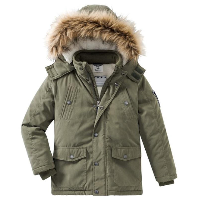 Новая зимняя куртка парка topolino размер 140
