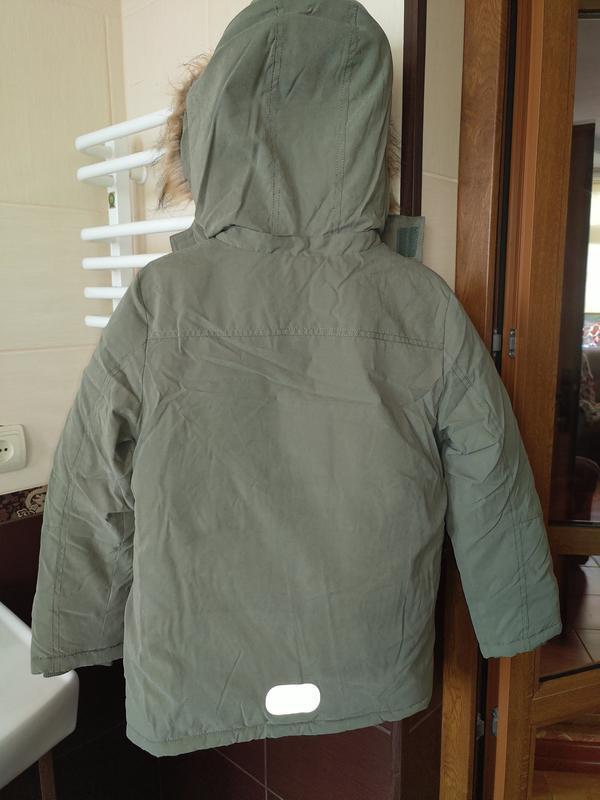 Новая зимняя куртка парка topolino размер 140 - Фото 3