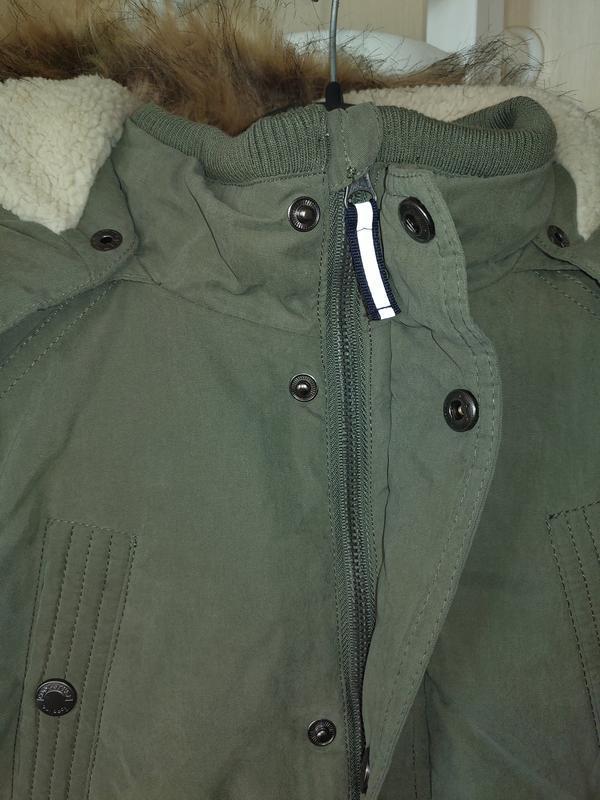 Новая зимняя куртка парка topolino размер 140 - Фото 7