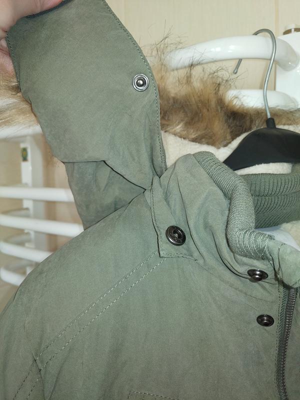 Новая зимняя куртка парка topolino размер 140 - Фото 8