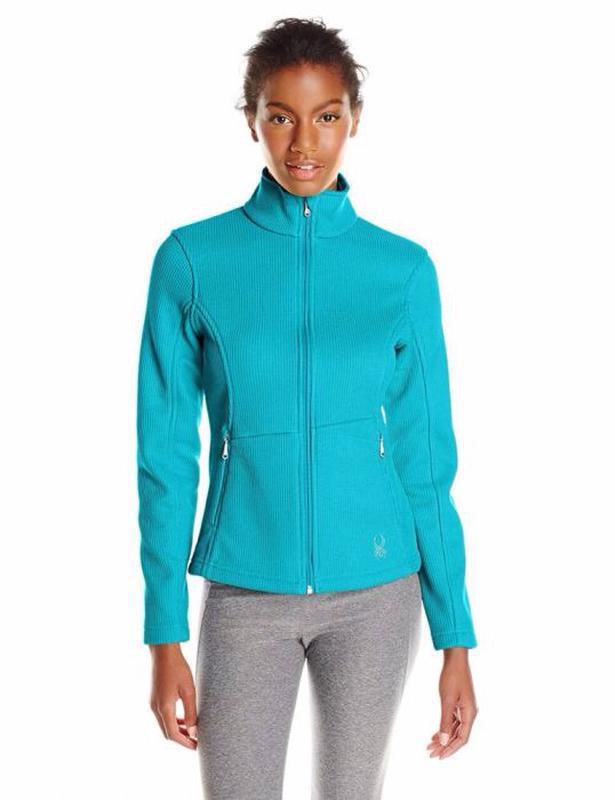 Кофта spyder women's endure jacket толстовка  s, l, - Фото 2