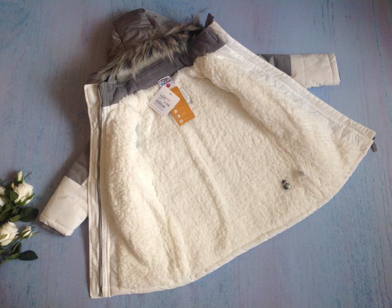 Зимняя куртка тм topolino topomini на 3 года рост 98 см - Фото 5