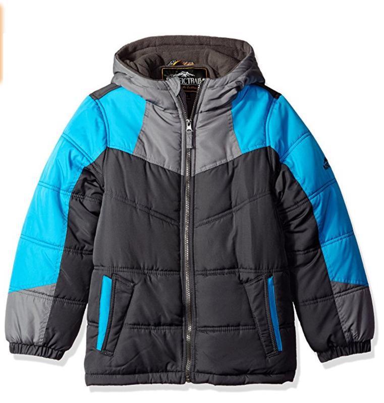 Pacific trail зимняя куртка для подростка на 18-20 лет (xl)