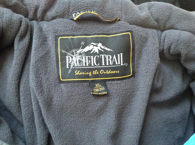 Pacific trail зимняя куртка для подростка на 18-20 лет (xl) - Фото 2