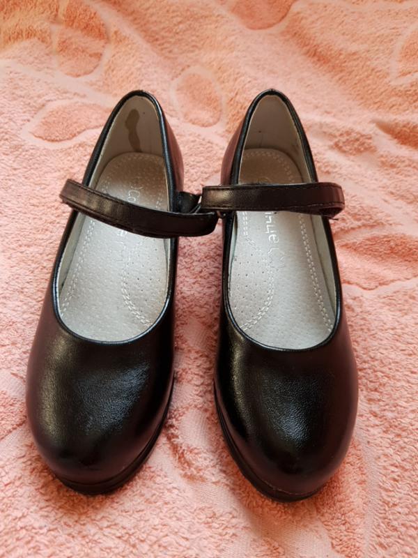 Туфли чёрные детские