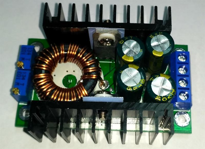 Преобразователь DC-DC до 9А 300 Вт с регулировкой тока - Фото 4
