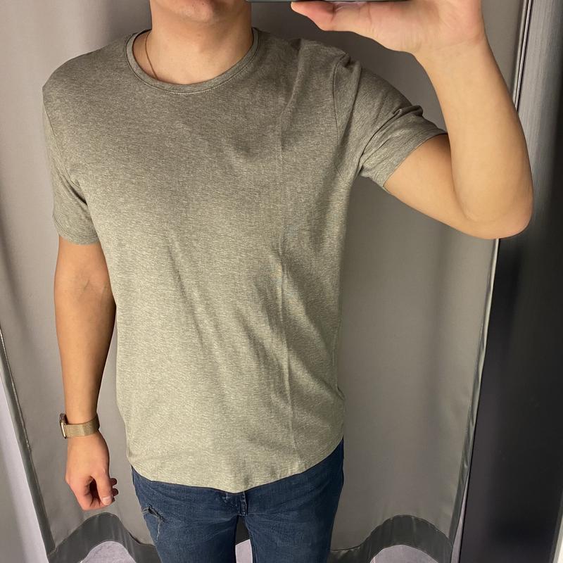 Базовая мужская футболка цвета хаки футболка smog есть размеры