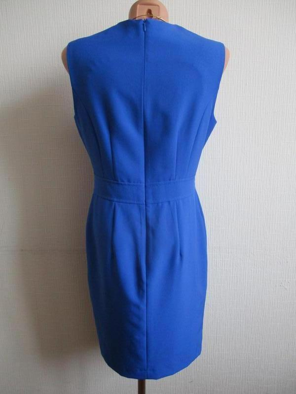 Яркое платье-футляр со сборками dorothy perkins - Фото 4