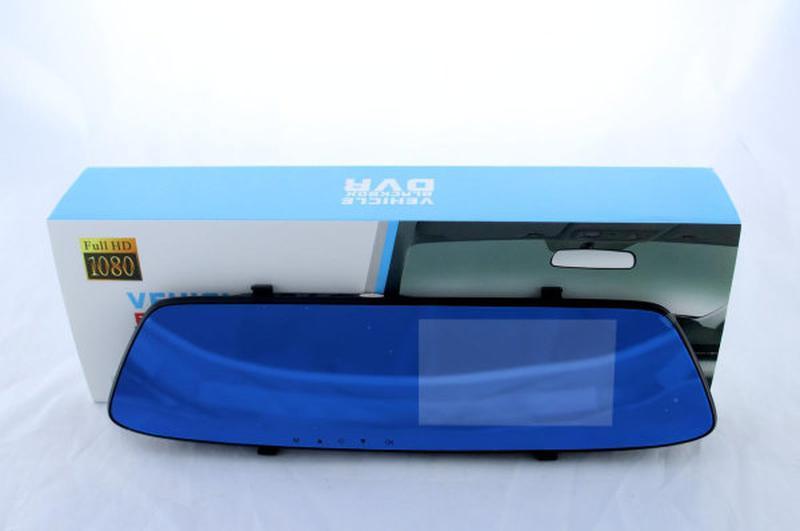 Видеорегистратор DVR T605 HD зеркало с двумя камерами BlackBox