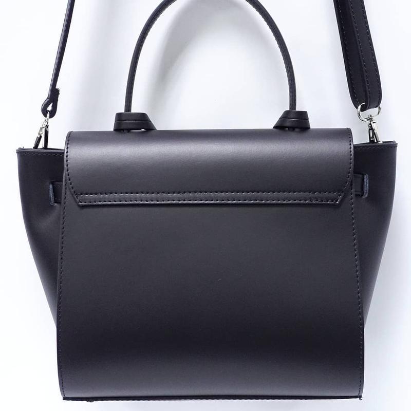 Кожаная сумка италия , натаральная кожа топ продаж ts000014 - Фото 2