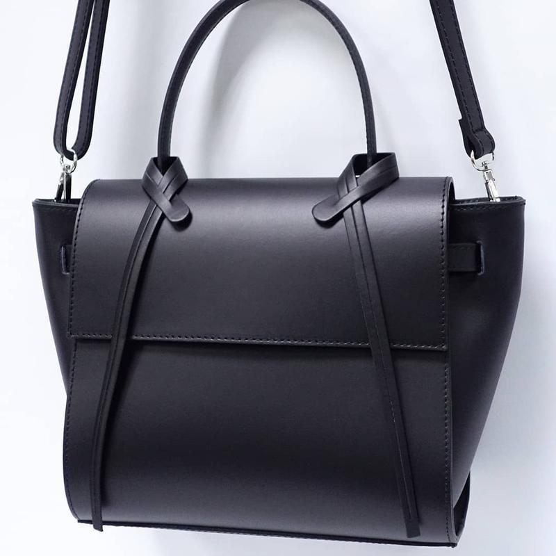 Кожаная сумка италия , натаральная кожа топ продаж ts000014 - Фото 3