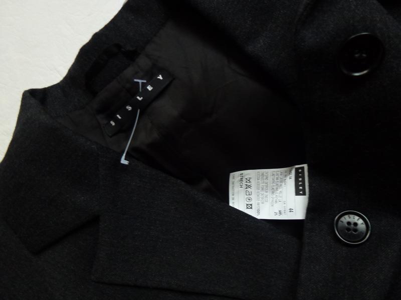 Шерстяной офисный пиджак - Фото 3
