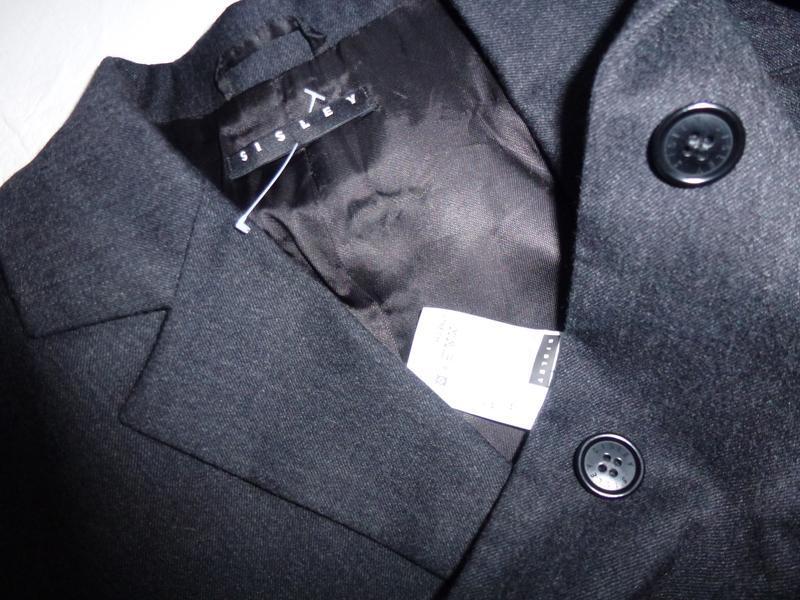 Шерстяной офисный пиджак - Фото 5