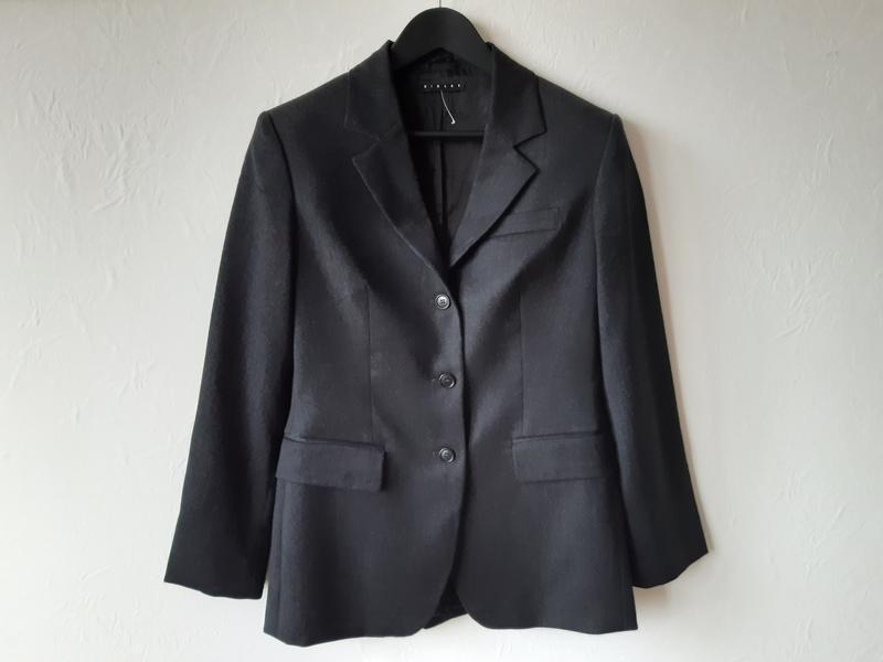 Шерстяной офисный пиджак - Фото 6