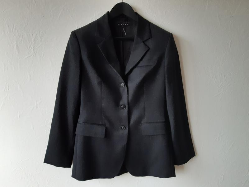 Шерстяной офисный пиджак - Фото 9