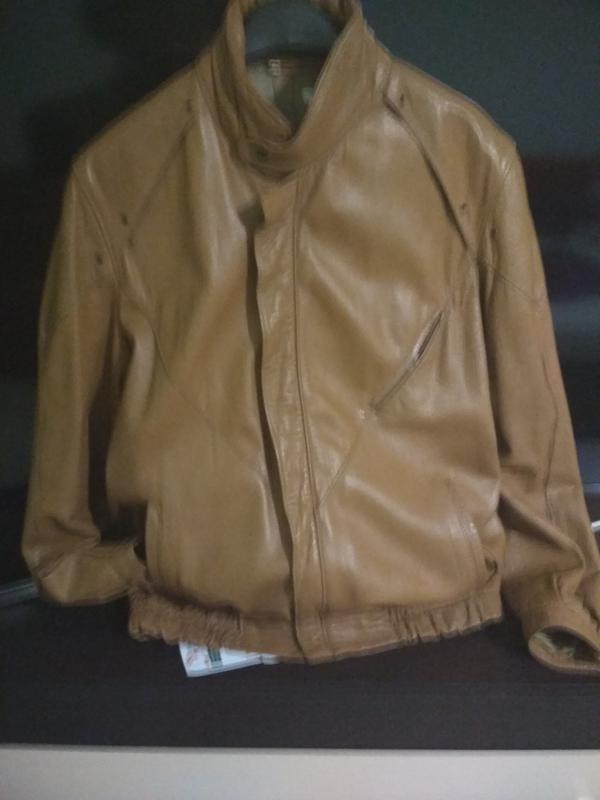 Кожаная куртка, италия, р. 46-48