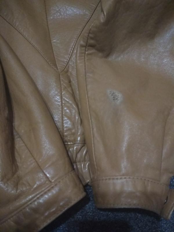 Кожаная куртка, италия, р. 46-48 - Фото 2
