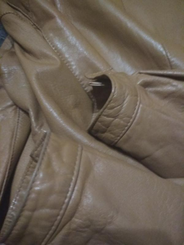 Кожаная куртка, италия, р. 46-48 - Фото 3