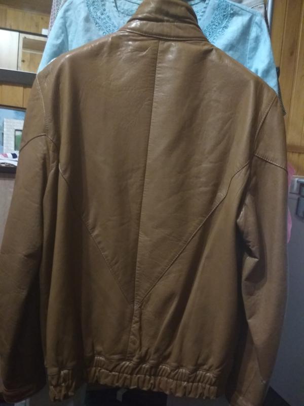 Кожаная куртка, италия, р. 46-48 - Фото 5