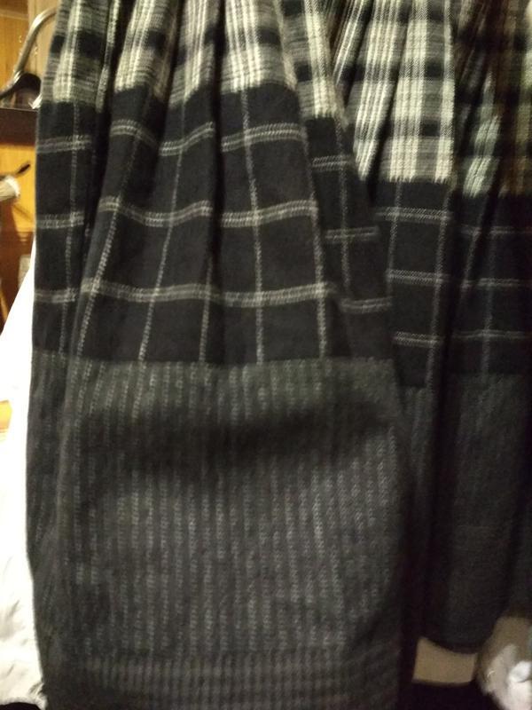 Актуальная юбка в складку, катон,р. 6-8 - Фото 3