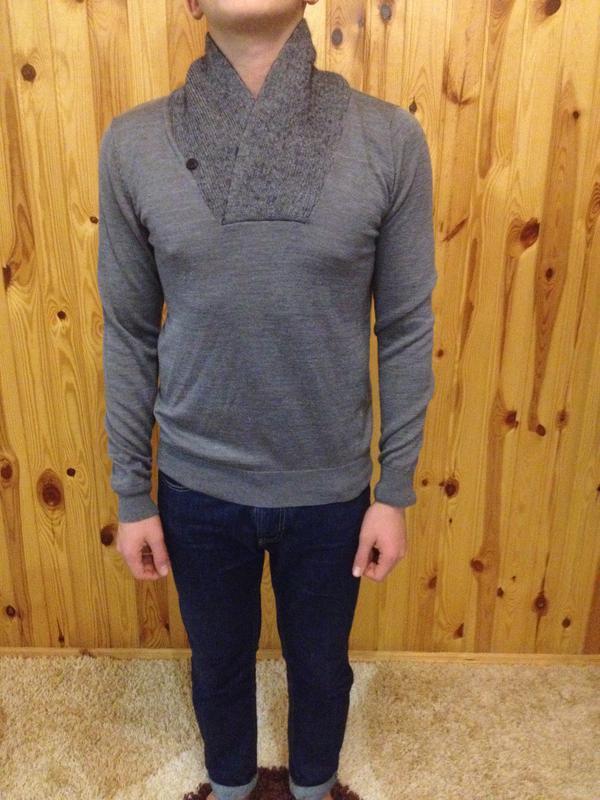 Шикарный  мужской  свитер  ,бренд   milano italia -  antony mo...